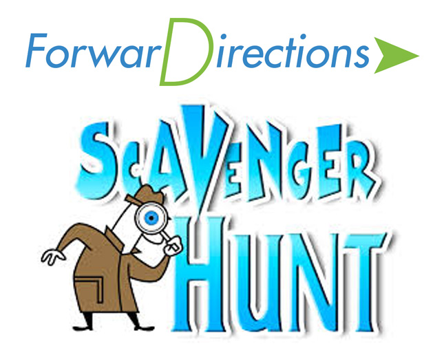 Join the ForwarDirections website Scavenger Hunt !